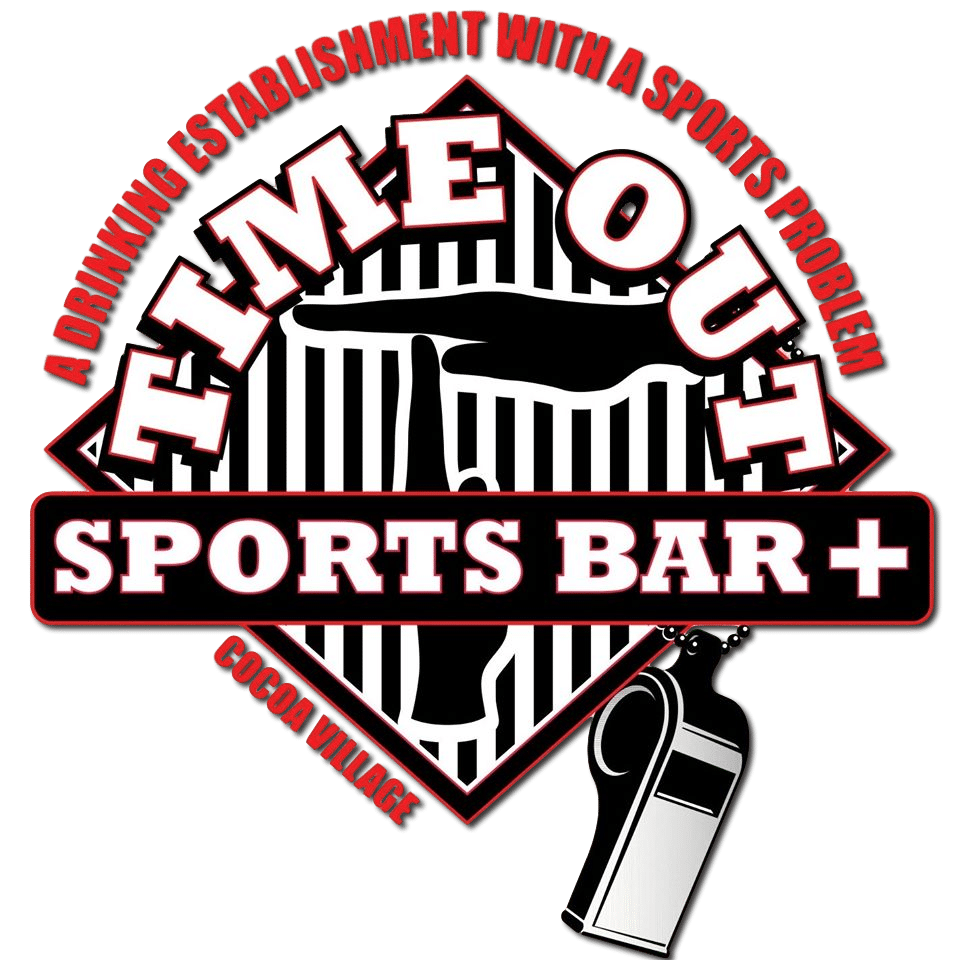 time out plus sports bar cocoa village logo transparent